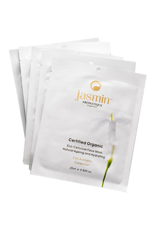 Certified Organic Eco-Cellulose Anti-Aging Face Mask