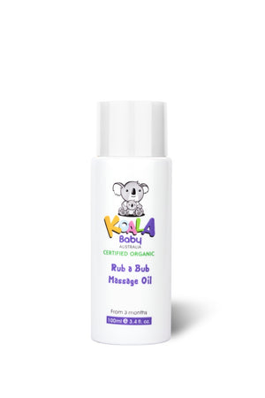 Certified Organic Rub-A-Bub Baby Massage Oil