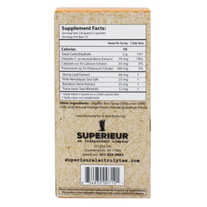 Superieur Electrolytes - Fresh Citrus Flavor (Packets)