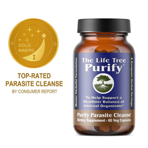 Purify - Parasite Cleanse (Liquid Veg Capsules)