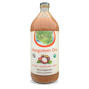 Mangosteen One - 100% Pure Certified Organic Superfruit Juice