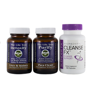 Total Body Cleanse Program - 30 Day Collection (Capsule) - FREE SHIPPING