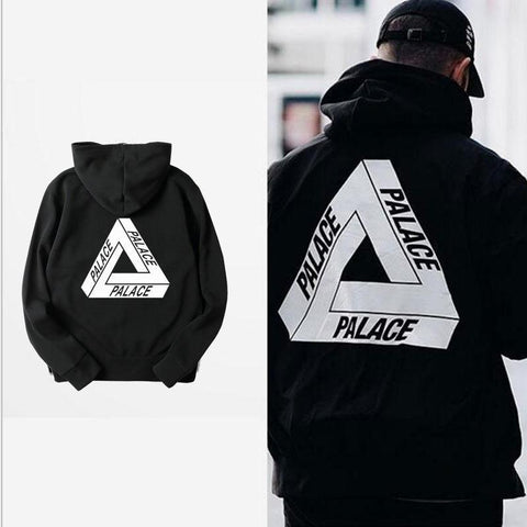 Trend PALACE Triangle Cotton Hoodie