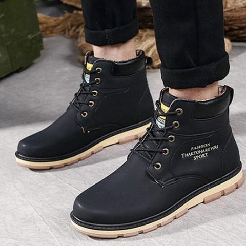 Hot Newest Keep Warm Men Winter Boots