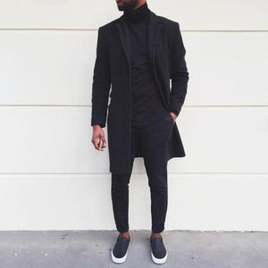 Men's Lambswool Coat