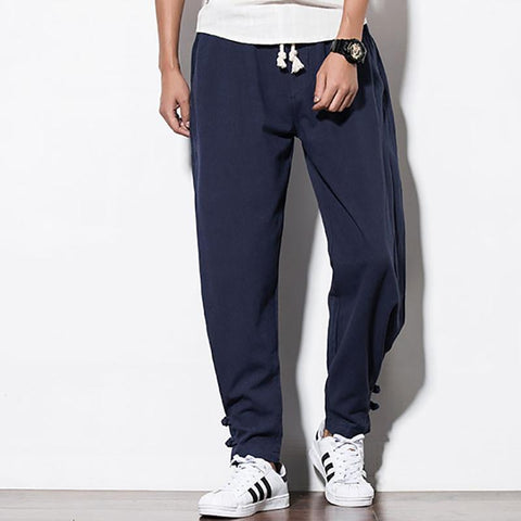 Large Size Casual Pants