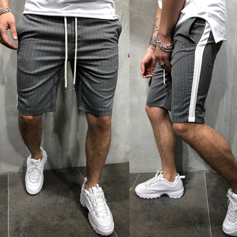 Sports Fitness Casual Stripe Shorts