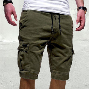 Casual Multi-Pocket Shorts