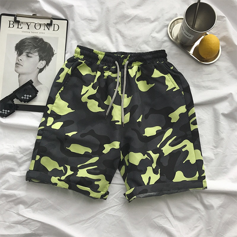 Fashion Sporty Printed Beach Shorts