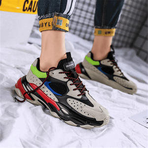 Fashion Wild Colorblocking   Sneakers
