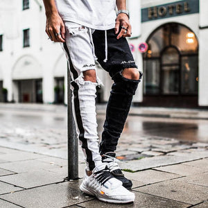 Men's Casual Pants Slim Straight Running Sports Trousers