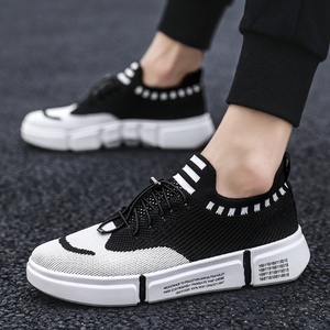 Sportive Casual Easy Matching Breathable Flyknit Mesh Sneakers