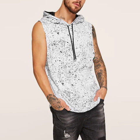 Summer Casual Fashion Hooded Sports Vest