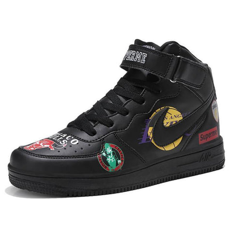 2019 NEW Trend Casual Graffiti Shoes High-Top Sneakers