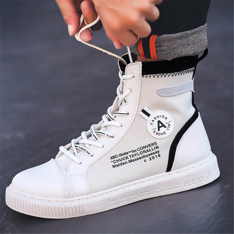High-Top Hip Hop Casual Canvas Shoes