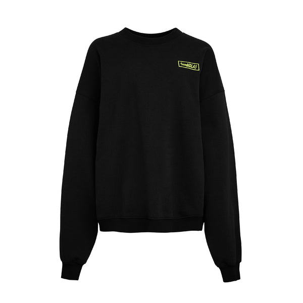 Black Sweater Logo