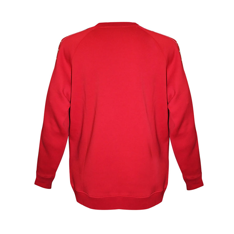 Raglan Sweatshirt Logo red