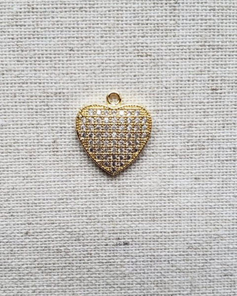 Blingy Heart (Gold)