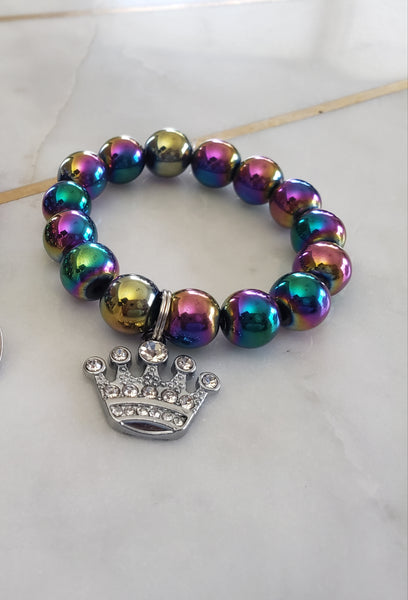 Princess Rainbow Metallic Bracelet