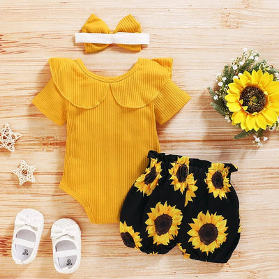 Mila SunFlower 3-Peice Set