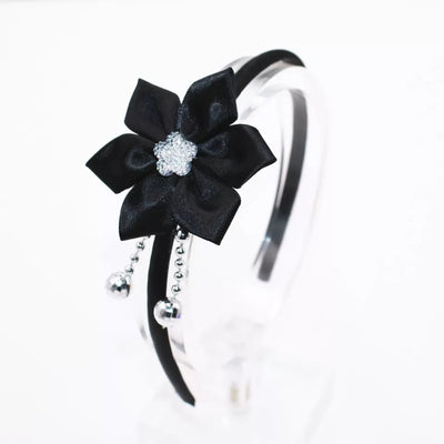 Rose flower hairband