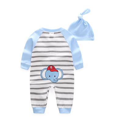 Baby K Long-Sleeve Jumpsuit