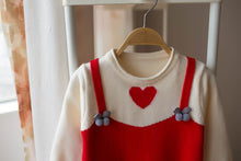 Load image into Gallery viewer, Pretty Love Heart Print Long-sleeve for Toddler Girl and Girl