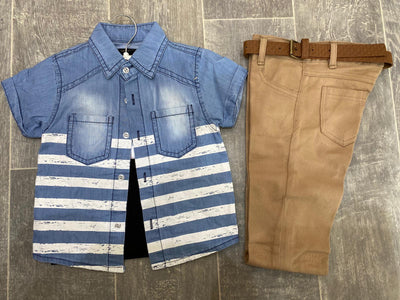 3-piece Baby / Toddler Boy Stylish Set