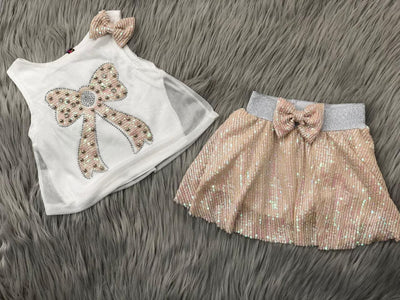 Larita Girl Top And Skirt Set