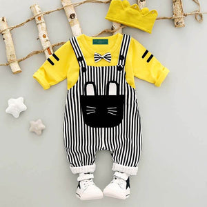 Baby Unisex Dungaree Outfit 2 Pieces