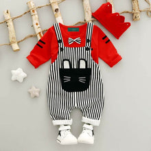 Load image into Gallery viewer, Baby Unisex Dungaree Outfit 2 Pieces