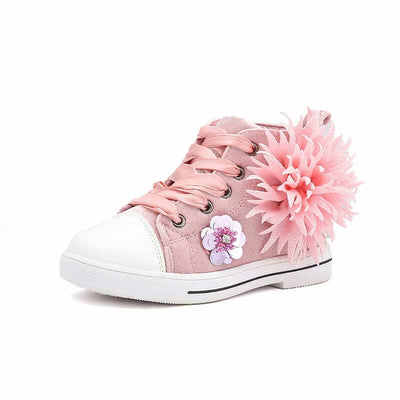 Stylish Roselyn Rose Shoes for Toddlers and Little Girls (Pink)