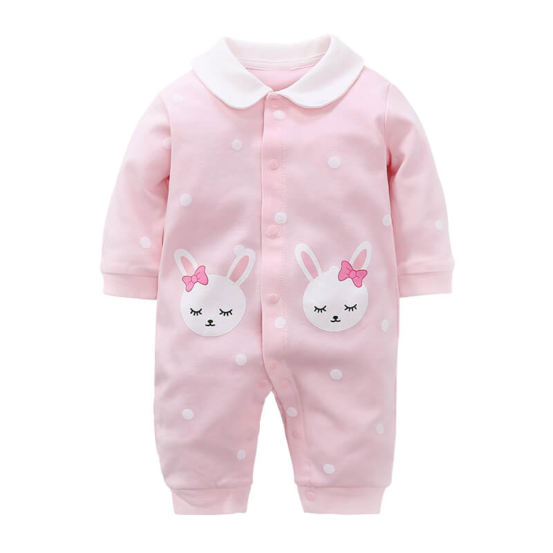 Baby Lucy Long-Sleeve Jumpsuit