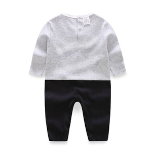J Luxury Long-Sleeve Jumpsuit For Baby Boy