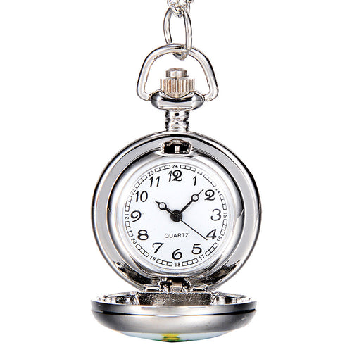 Christmas Style Pocket Watch
