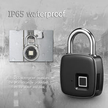 Load image into Gallery viewer, Smart Fingerprint Padlock