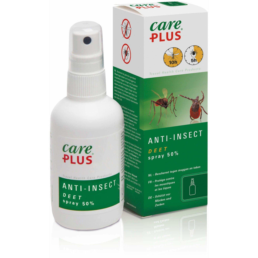 Care Plus Anti-Insect Deet 50% Spray, 60 ml - Needs To Travel