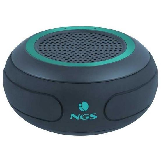 Draadloze Stereoluidspreker NGS Roller Creek 10W Zwart, Groen - Needs To Travel
