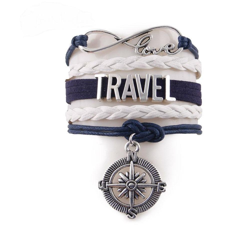 Reisarmband Met Kompas - Needs To Travel