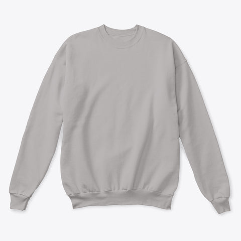 Basic Sweatshirt - Heather Grey