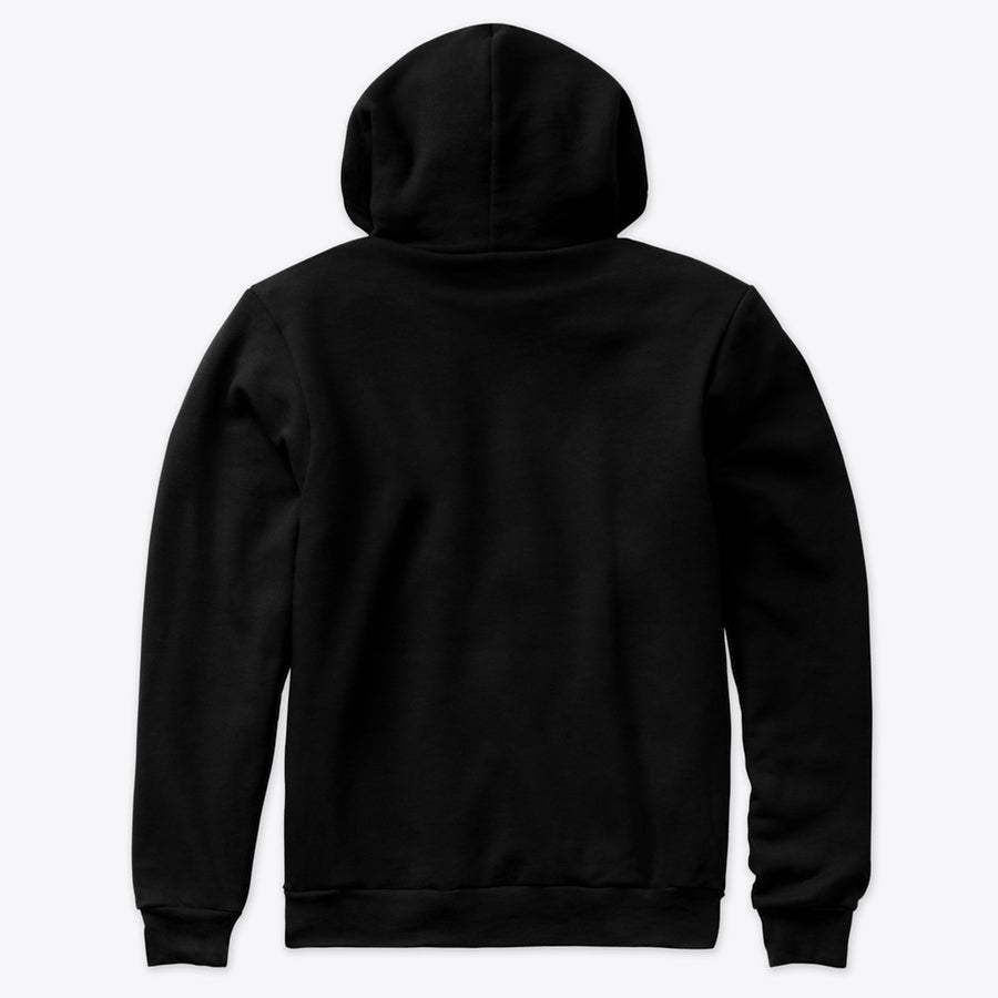 Decent basic - Solid Black Hoodie