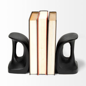 "Black ""Last"" Bookends"