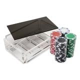 Acrylic La Ficha Poker Chip Set