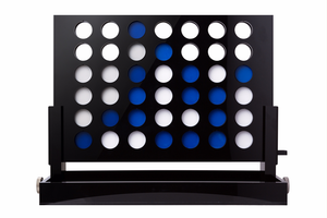 Black Acrylic Connect 4