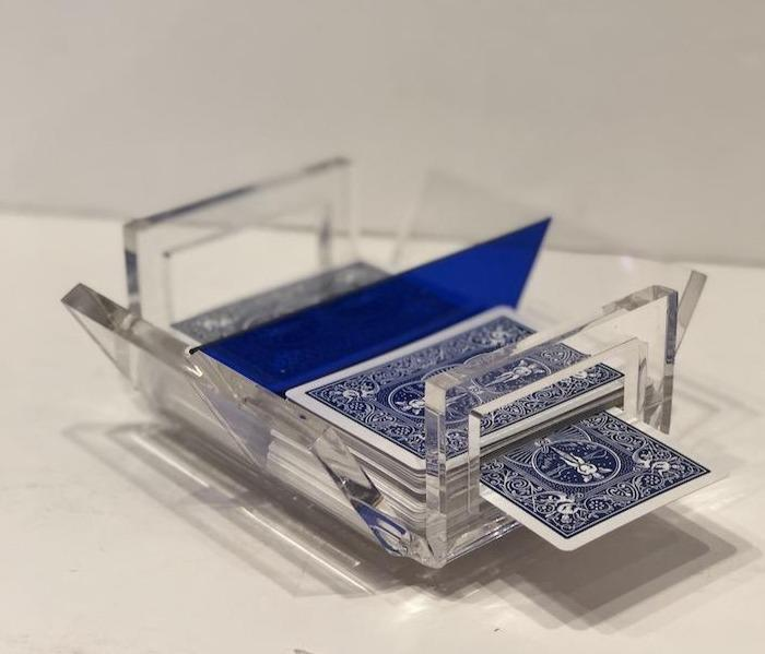 """Canaston"" Acrylic Canasta Set"