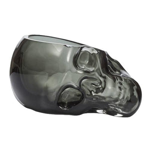 Skull Bowl - Smoked Glass