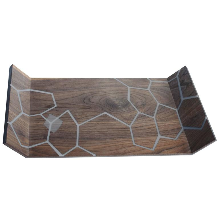 Honeycomb Decorative Serving Tray