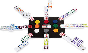 """El Tren"" Mexican Train Dominoes Set"