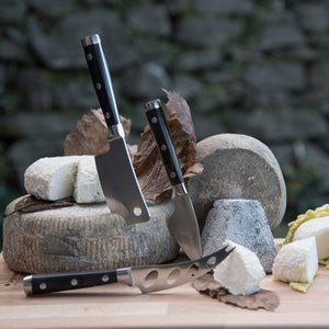 Legnoart Latte Vivo Wenghe Cheese Knife Set