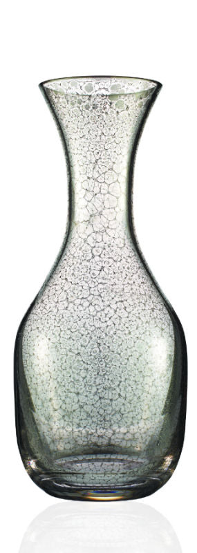 Platinum Crackle Decanter